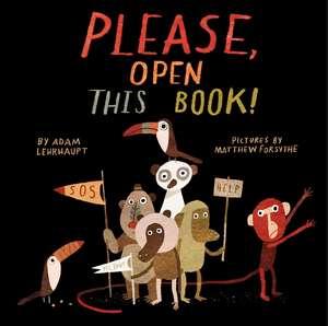 Please, Open This Book! de Adam Lehrhaupt