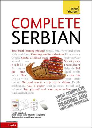 Complete Serbian Book/CD Pack: Teach Yourself de Vladislava Ribnikar
