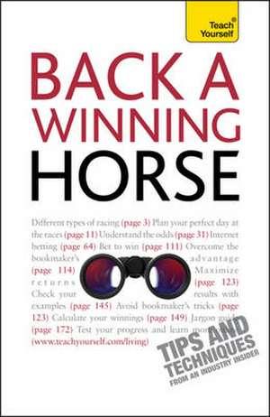 Back a Winning Horse de Belinda Levez