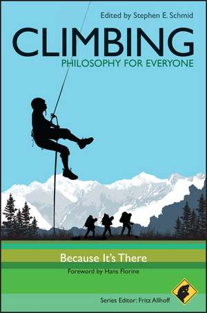 Climbing – Philosophy for Everyone