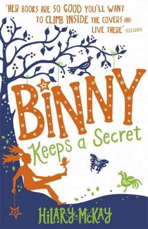 Binny Keeps a Secret de Hilary McKay
