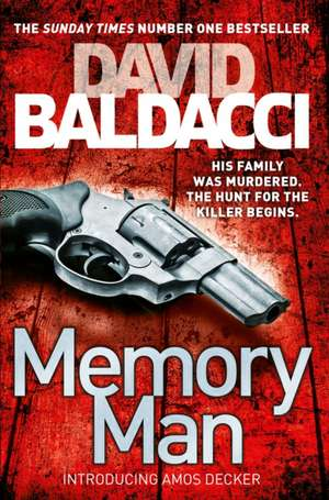 Memory Man de David Baldacci