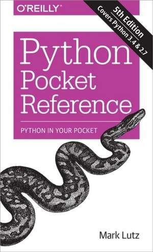 Python Pocket Reference 5ed de Mark Lutz