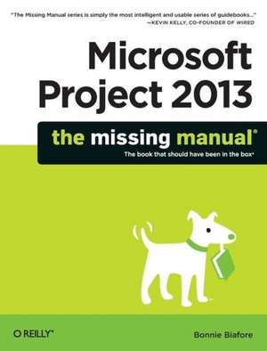 Microsoft Project 2013 – The Missing Manual