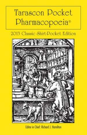 Tarascon Pocket Pharmacopoeia Classic Shirt Pocket Edition