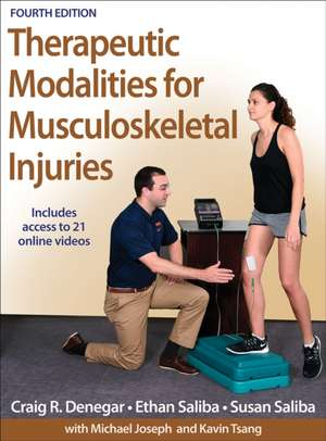 Therapeutic Modalities for Musculoskeletal Injuries-4th Edition with Online Video