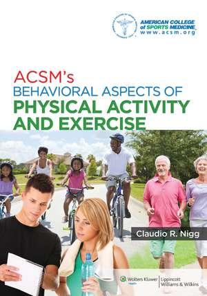 ACSM's Behavioral Aspects of Physical Activity and Exercise imagine