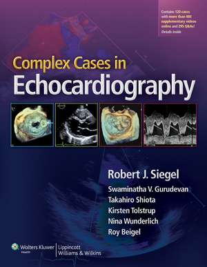 Complex Cases in Echocardiography