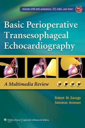Basic Perioperative Transesophageal Echocardiography