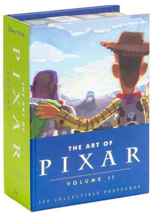 The Art of Pixar, Volume II:  100 Collectible Postcards de Chronicle Books