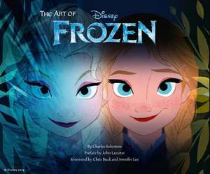The Art of Frozen:  30 Ready-To-Complete Pictures of Your Awesome Family and Friends de Charles Solomon