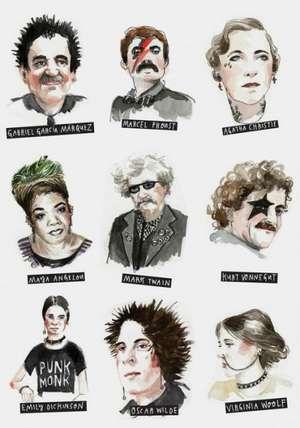 Punk Rock Writers Journal de Chronicle Books