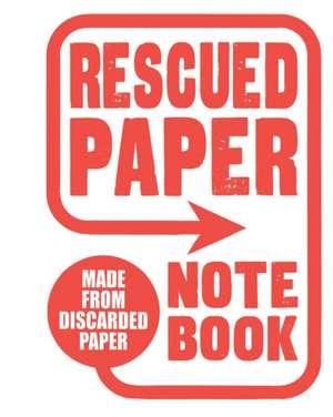 Rescued Paper Notebook, Large de  Sukie