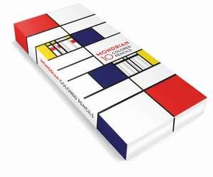 Creioane colorate Mondrian