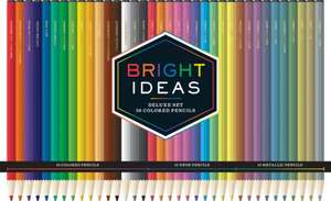 Bright Ideas Deluxe Colored Pencil Set