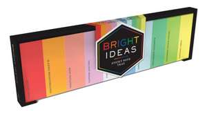 Bright Ideas Sticky Note Tray de Chronicle Books