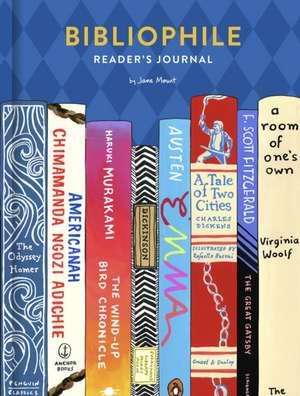 Bibliophile Reader's Journal de Jane Mount