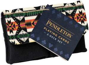 Pendleton Playing Cards: 2-Deck Set (Camping Games, Gift for Outdoor Enthusiasts) imagine