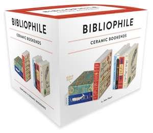 Bibliophile Ceramic Bookends de Jane Mount
