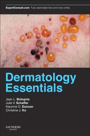 Dermatology Essentials de Jean L. Bolognia