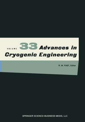 Advances in Cryogenic Engineering de K. D. Timmerhaus