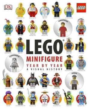 Lego Minifigure Year by Year