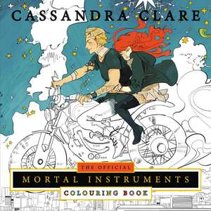 The Official Mortal Instruments Colouring Book de Cassandra Clare