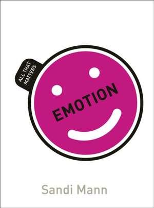 Emotion de Dr. Sandi Mann