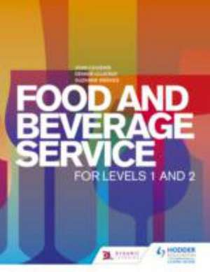 Food and Beverage Service for Levels 1 and 2 de John Cousins