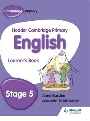 Hodder Cambridge Primary English: Learner's Book Stage 5