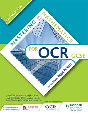 Mastering Mathematics for OCR GCSE: Foundation 1 de Gareth Cole