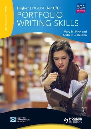 Higher English for CfE: Portfolio Writing Skills imagine