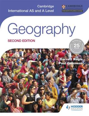 Cambridge International AS and A Level Geography de Garrett Nagle