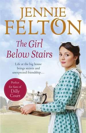 Girl Below Stairs