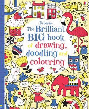The Brilliant Big Book of Drawing, Doodling & Colouring