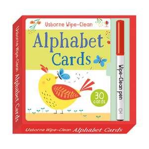 Brooks, F: Wipe-Clean Alphabet Cards