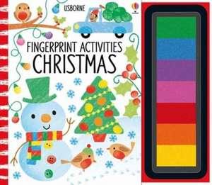 Fingerprint Activities Christmas de Fiona Watt