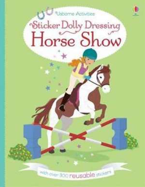 Sticker Dolly Dressing: Horse Show