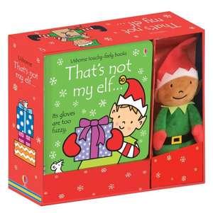 That's not my elf... Book and Toy de Fiona Watt