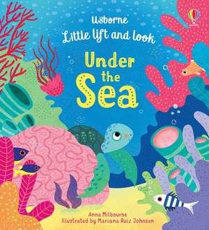 Little Lift and Look Under the Sea de Anna Milbourne
