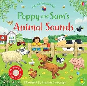 Poppy and Sam's Animal Sounds de Sam Taplin