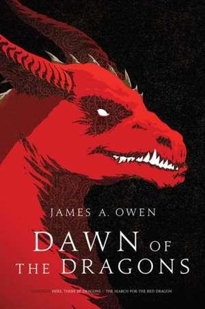 DAWN OF THE DRAGONS de JAMES A. OWEN