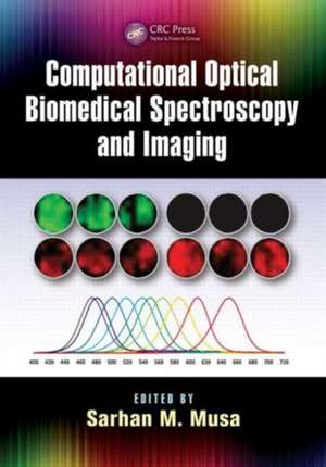 Computational Optical Biomedical Spectroscopy and Imaging