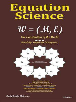 Equation Science de Onoja Yakubu Akoh