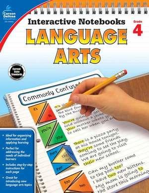 Language Arts, Grade 4 de Carson-Dellosa Publishing