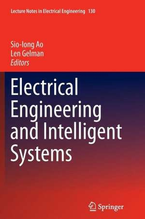 Electrical Engineering and Intelligent Systems de Sio Iong Ao