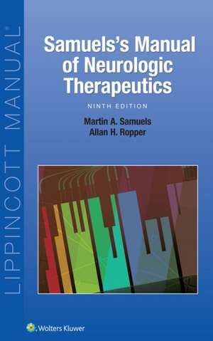 Samuel's Manual of Neurologic Therapeutics
