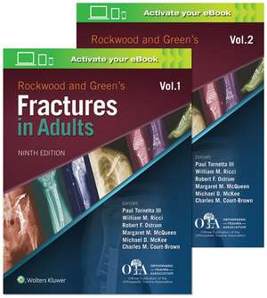 Rockwood and Green's Fractures in Adults de Dr. Paul Tornetta, III