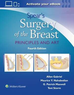 Spear's Surgery of the Breast imagine