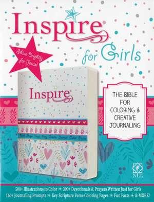 Inspire Bible for Girls NLT imagine
